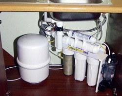 Установка фильтра очистки воды в Нижнем Тагиле, подключение фильтра очистки воды в г.Нижний Тагил